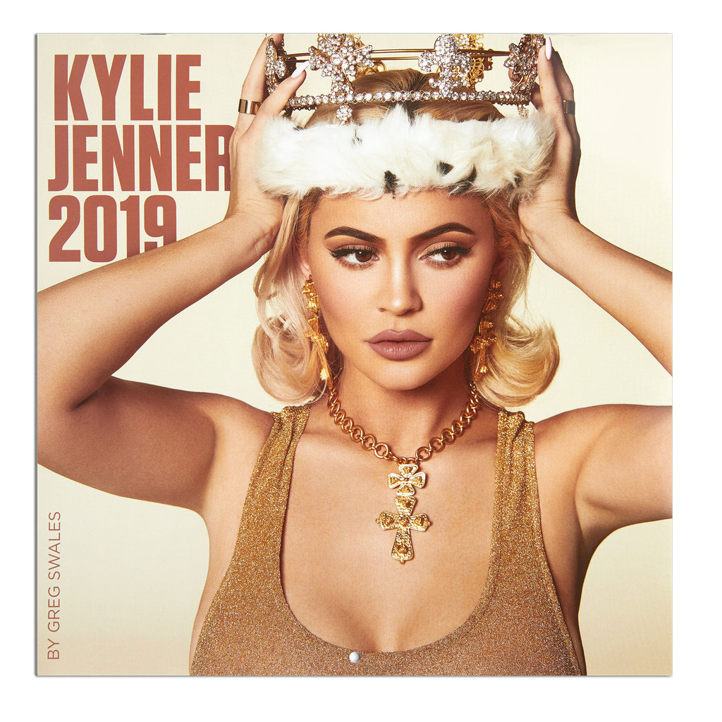 3b487481 Official Kylie Jenner 2019 Calendar Kylie wearing crown