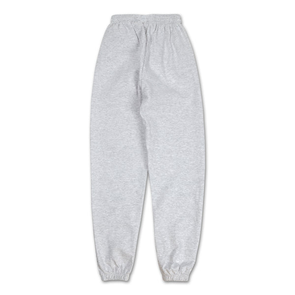 Los Angeles Pop Up Sweatpants - Grey logo down side back view