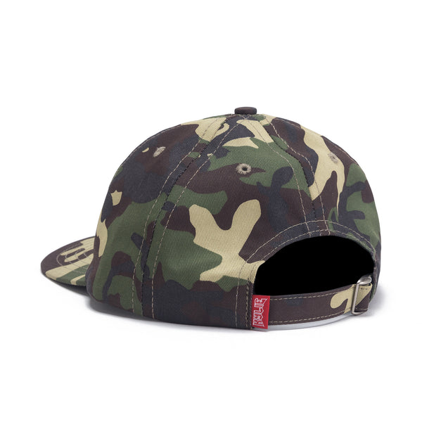 Camo Dad Hat - Green back view