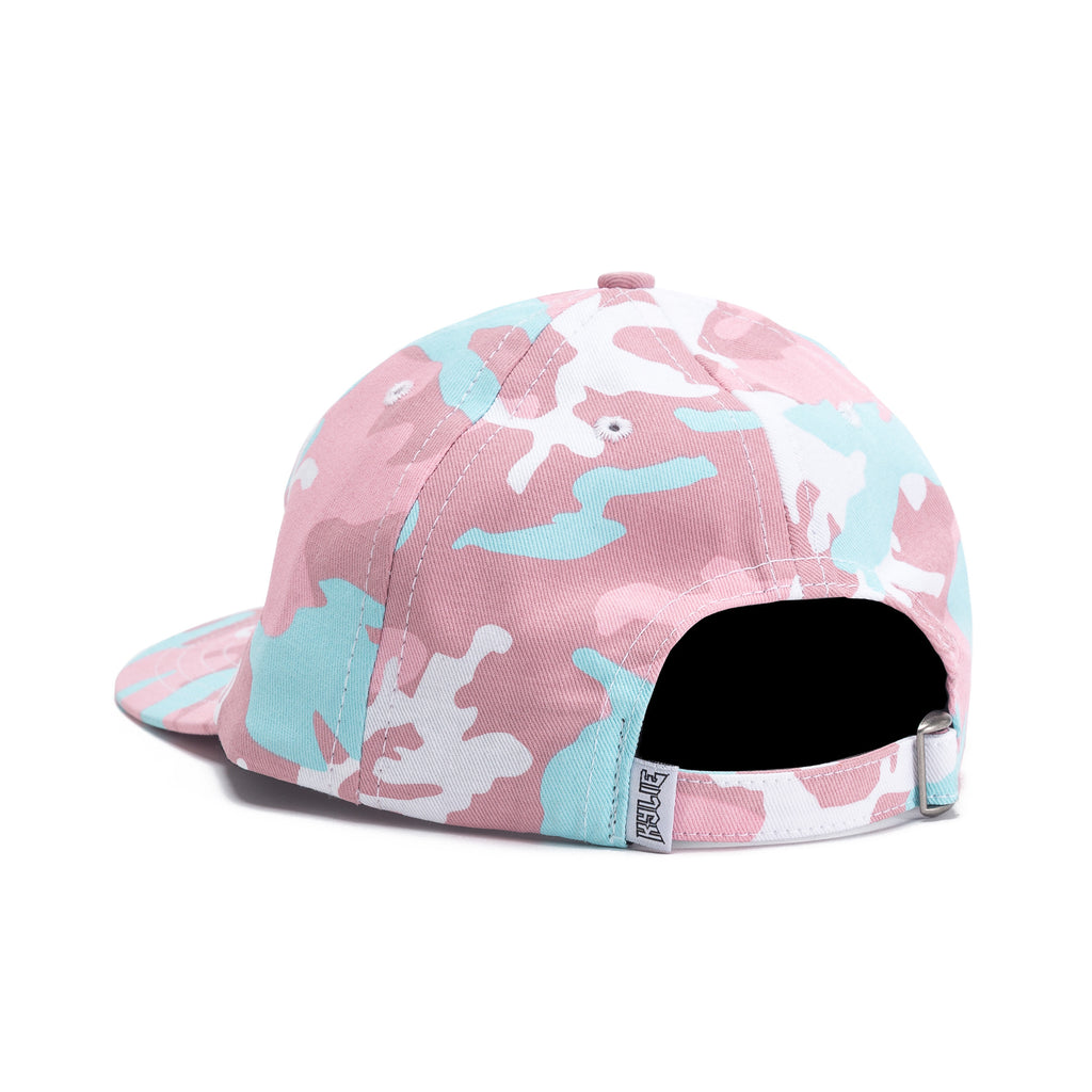 Front View Pink Woodland Camo Dad Hat  Back view Pink Woodland Camo Dad Hat  ... c4be860b44fd