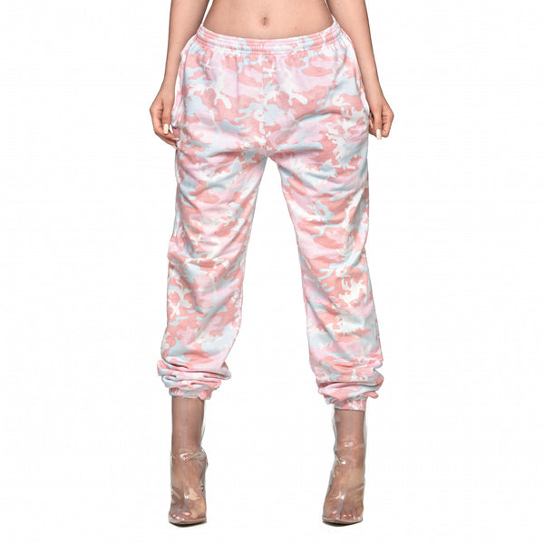 Camo Sweatpants - Candy