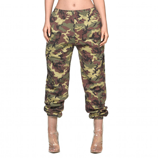Camo Sweatpants - Green