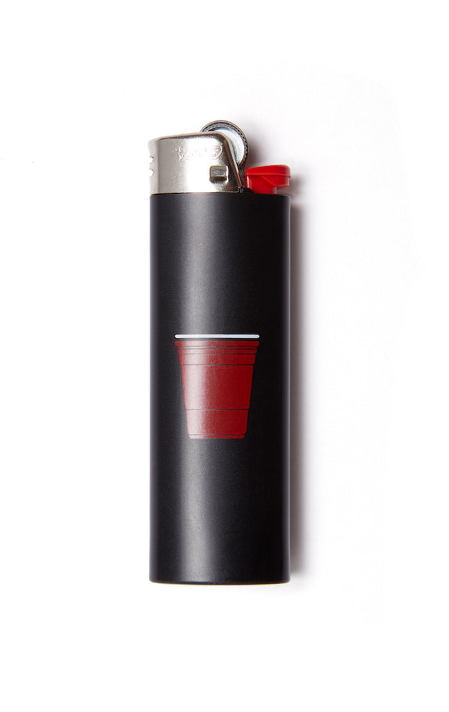 black Red Cup Lighter