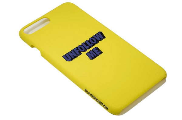 Unfollow Me iPhone Case