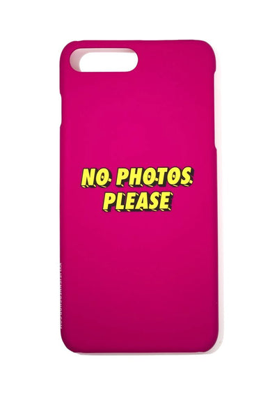 No Photos Please iPhone Case