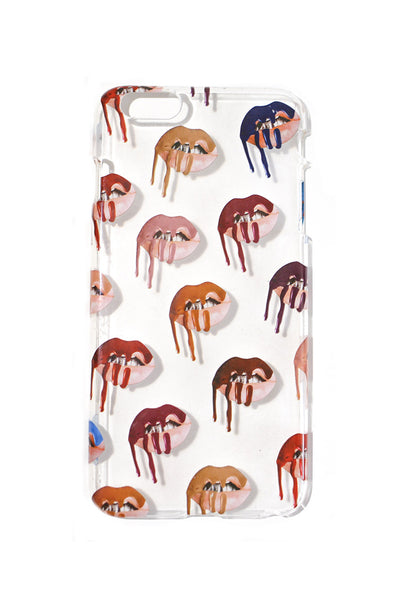 Multi Lips iPhone Case