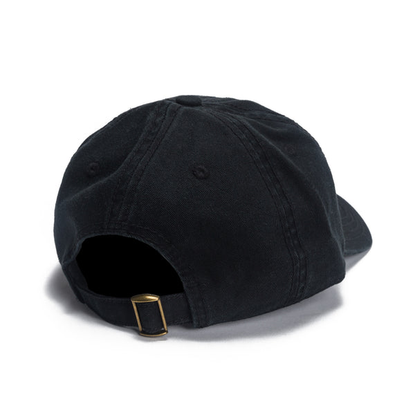 Lips Dad Hat - Black