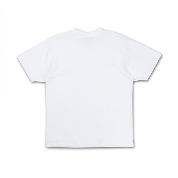 Like Realizing Stuff Tee white back view plain