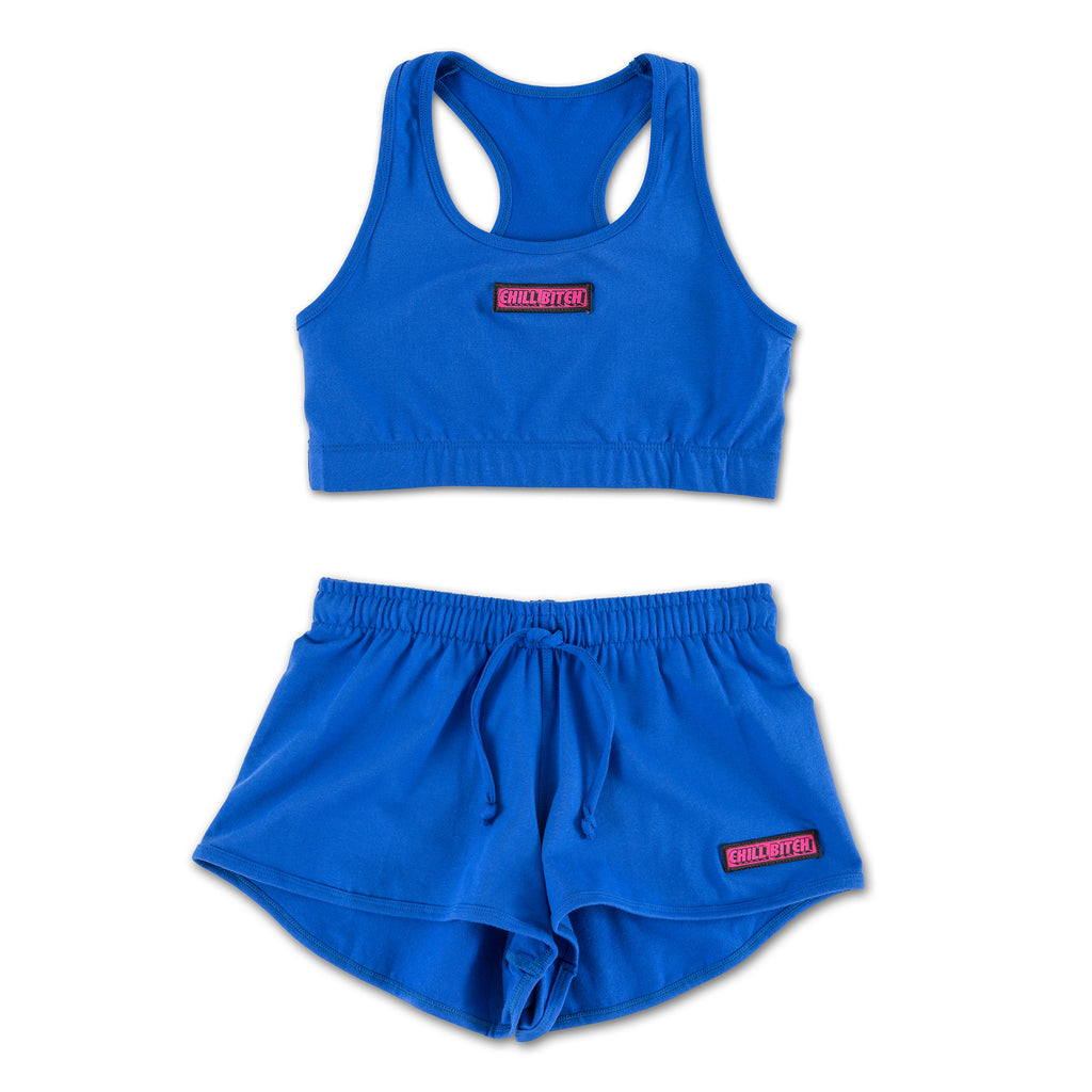 Chill Bitch Blue Sports Set