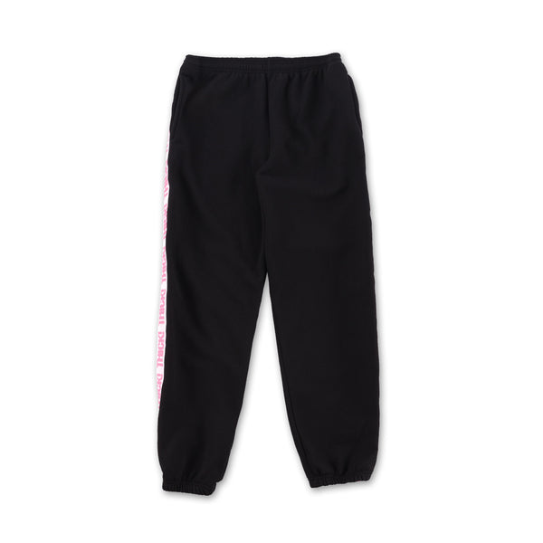 Thick! Elastic Band Sweatpants in Black