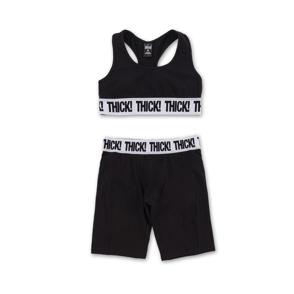 Thick! Sports Set - Black