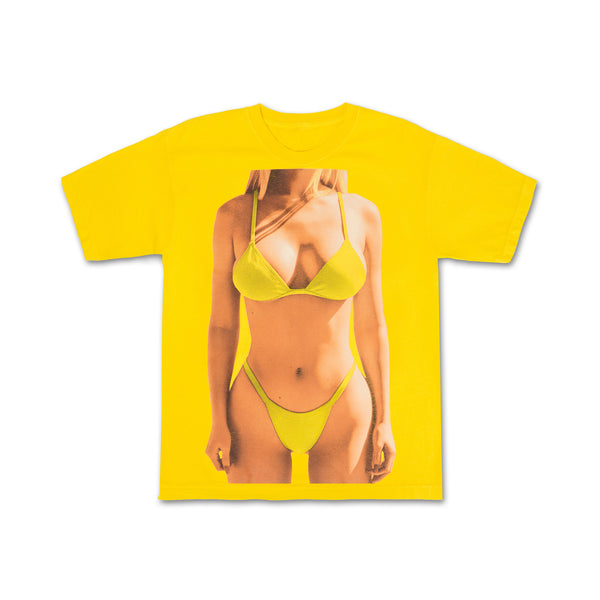 Yellow Bright Kylie Tee