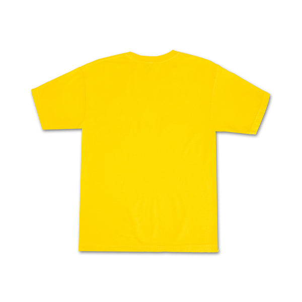 Yellow Bright Kylie Tee back view