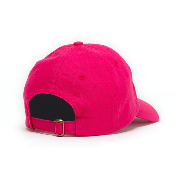 No Photos Please Pink Dad Hat back view