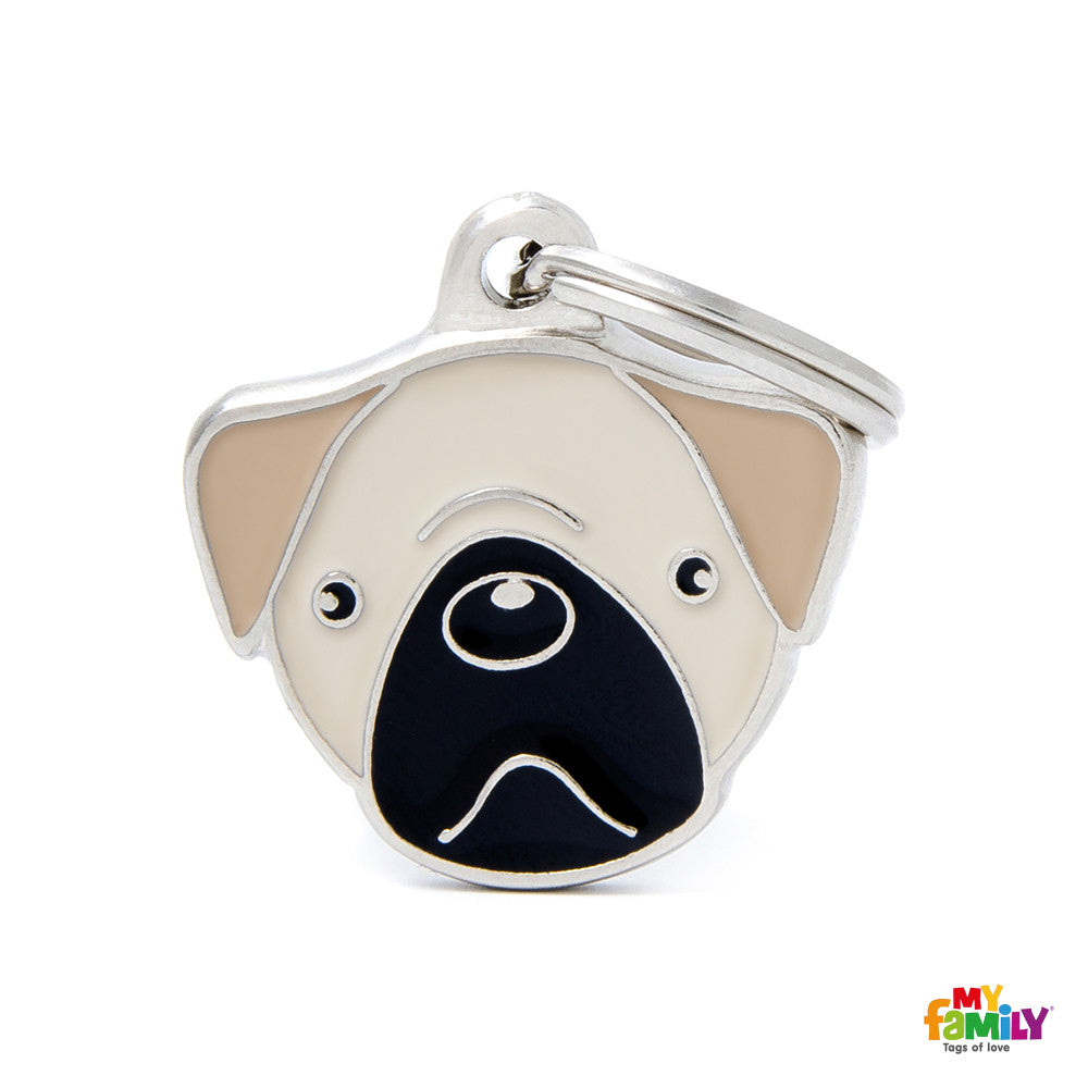 [product vendor],Friends Pug Tag Charm,Dog