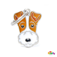 [product vendor],Friends Fox Terrier Tag Charm,Dog