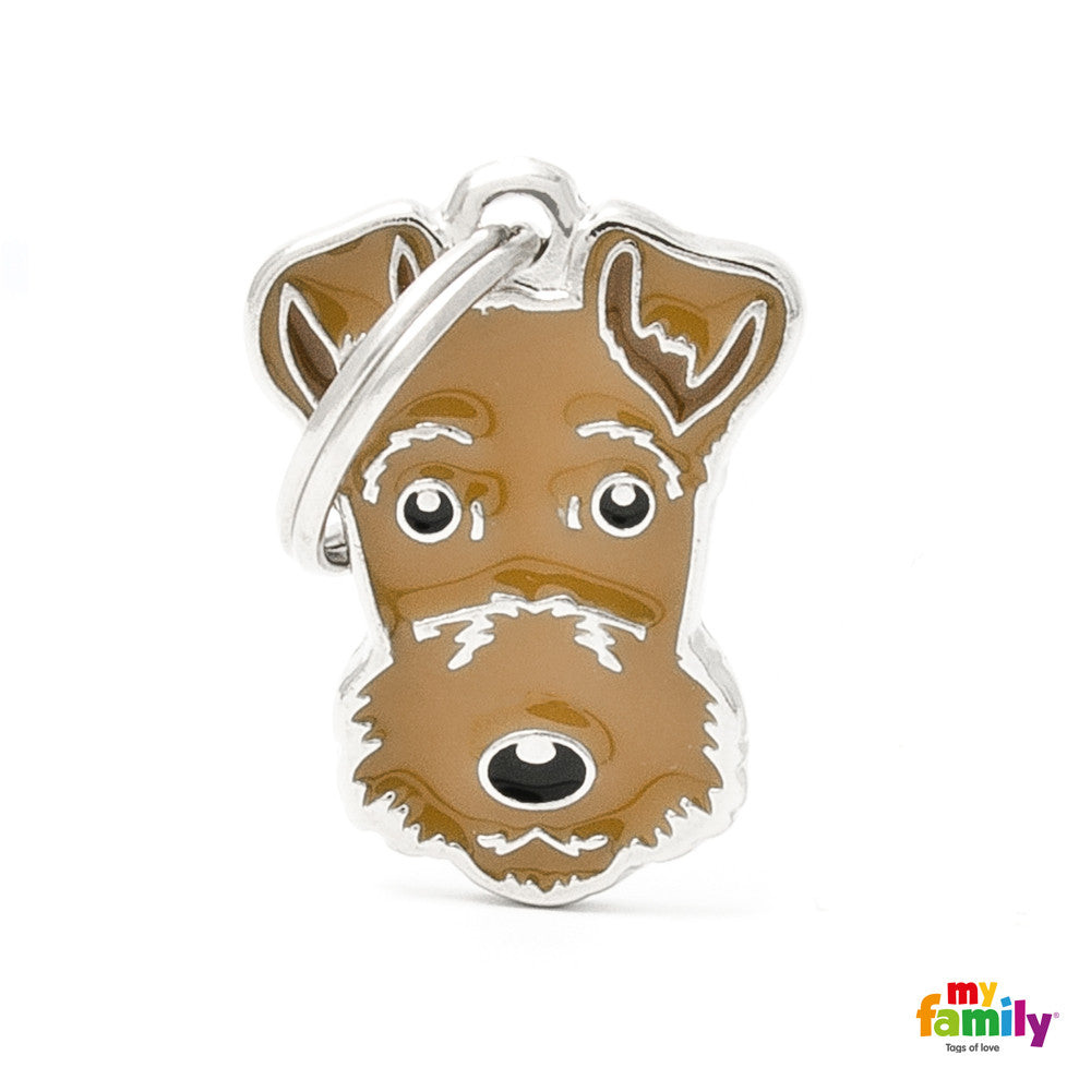 [product vendor],Friends Airedale Tag Charm,Dog