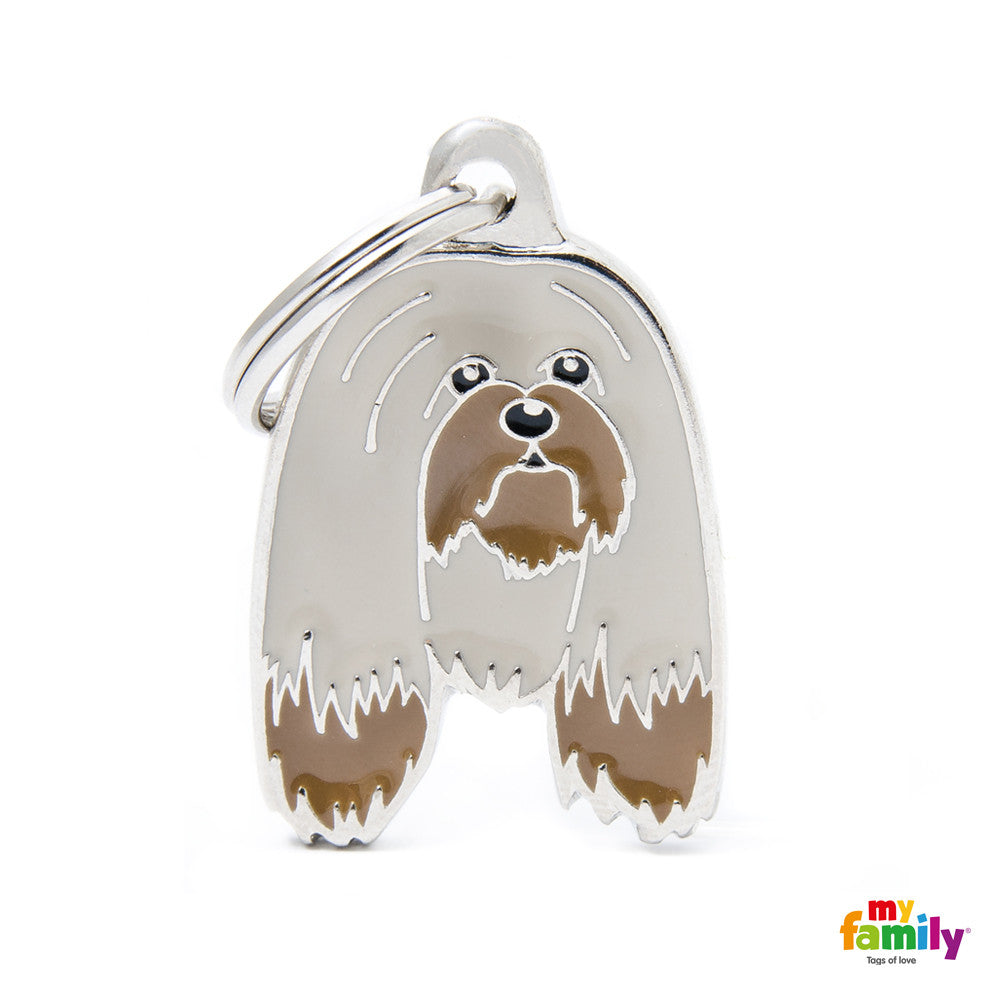[product vendor],Friends Lhasa Apso Tag Charm,Dog