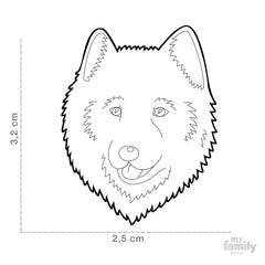 [product vendor],Friends Samoyed Tag Charm,Dog