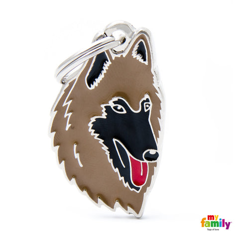 [product vendor],Friends Belgian Shepherd Tag Charm,Dog