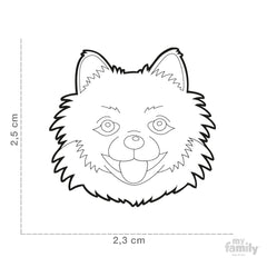 [product vendor],Friends Pomeranian Tag Charm,Dog