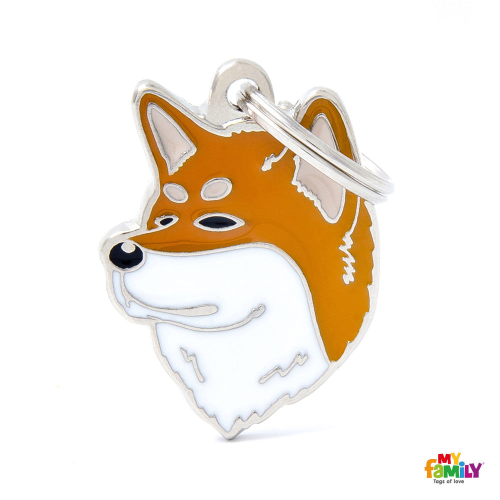 [product vendor],Friends Shiba Inu Tag Charm,Dog