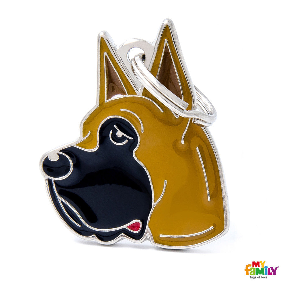 [product vendor],Friends Great Dane Tag Charm,Dog