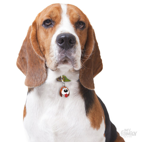 [product vendor]Friends Beagle Tag CharmDog