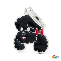 [product vendor]Friends Poodle Tag CharmDog
