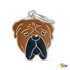[product vendor],Friends Bull Mastiff Tag Charm,Dog