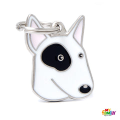 [product vendor],Friends Bull Terrier Dog Tag Charm,Dog