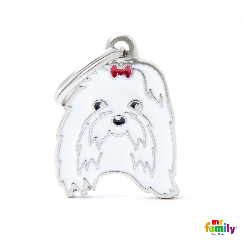 [product vendor],Friends Maltese Tag Charm,Dog