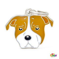 [product vendor],Friends Staffordshire Dog Tag Charm,Dog