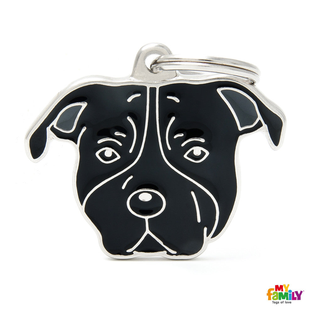 [product vendor]Friends Staffordshire Dog Tag CharmDog