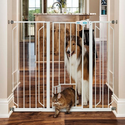 "Expandable 39"" Extra Tall Pet Gate"