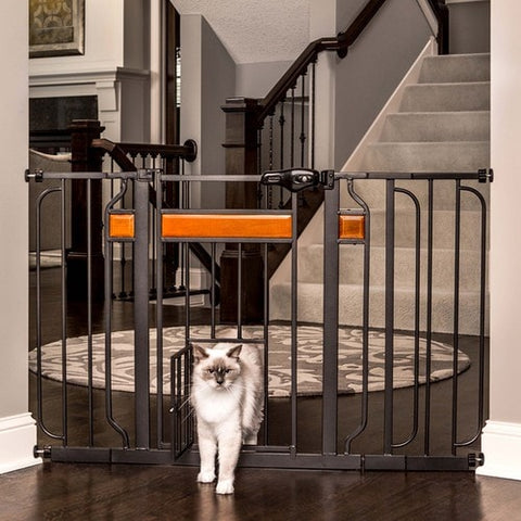 Designer Pet Gate Extra Wide