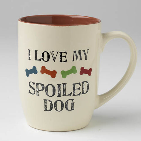 I Love Spoiled Dog Mug