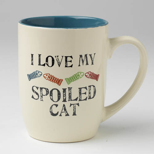 I Love Spoiled Cat Mug
