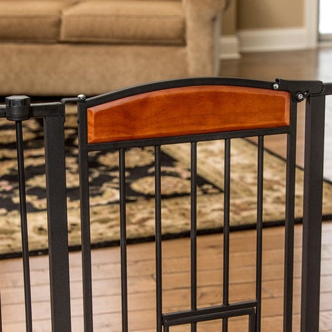 Arched Flexi Pet Gate