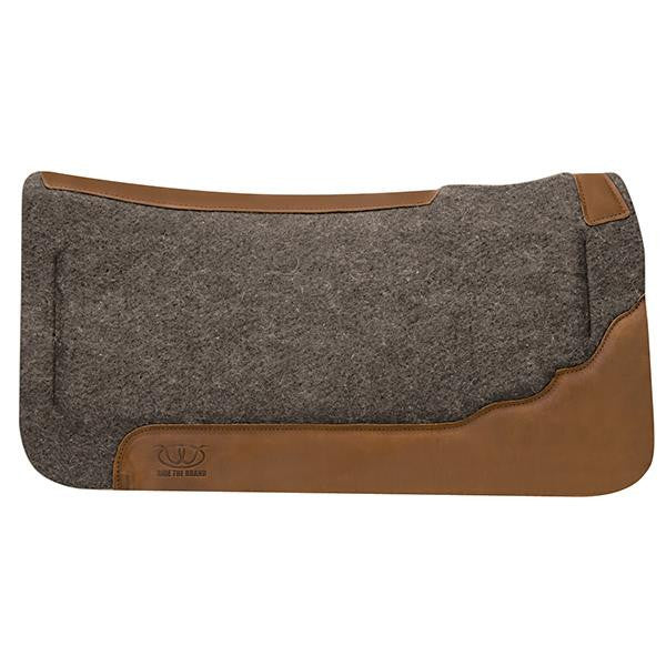 [product vendor],Memory Foam Felt Saddle Pad,Horse