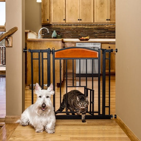 Auto Closing Designer Pet Gate