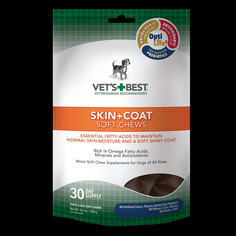 Skin + Coat Soft Chews Supplement