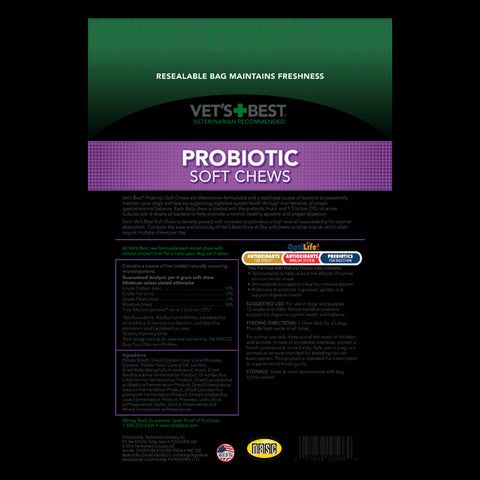 Probiotic Soft Chews Supplement