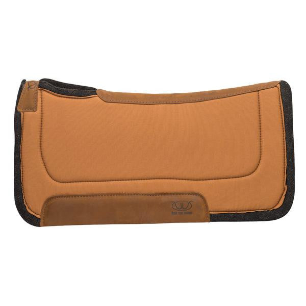 Working Contoured Felt Saddle Pad