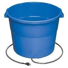Heated Bowls and Heated Buckets