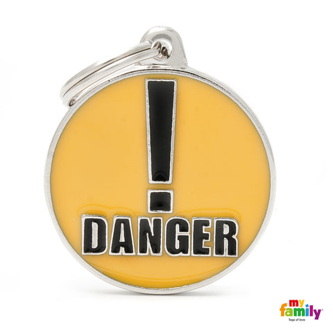 DANGER! Tag Charm