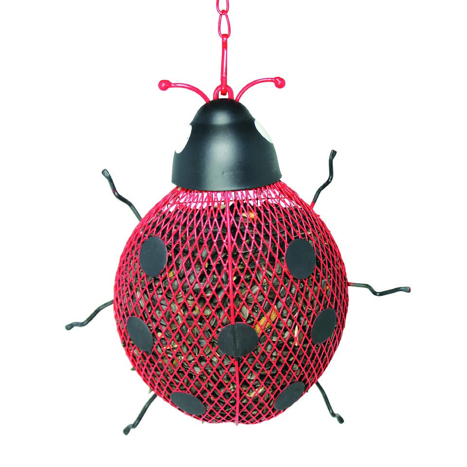 Ladybug Shaped Bird Feeder
