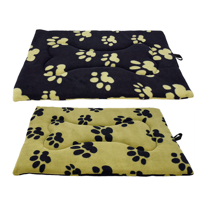[product vendor],Reversible Paw Print Flat Mat,Dog