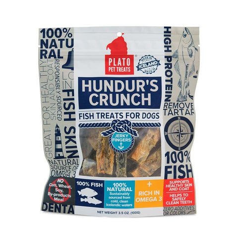 Hundur's Crunch Fish Treats for Dogs