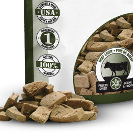 [product vendor]Pure Freeze Dried Beef LiverDog